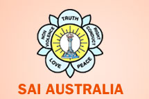 Sai Australia logo and Human Values Symbol